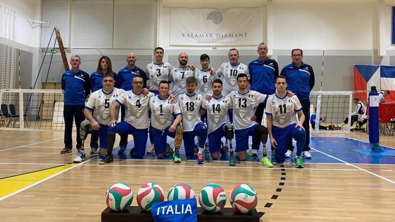 Sitting Volley: Qualificazioni Europee, l'Italia battuta dalla Slovenia
