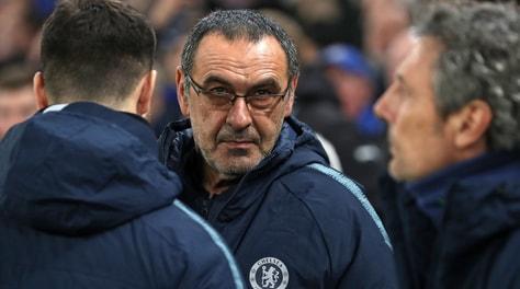 Chelsea, Sarri dribbla la Roma: «Mai incontrato Baldini»