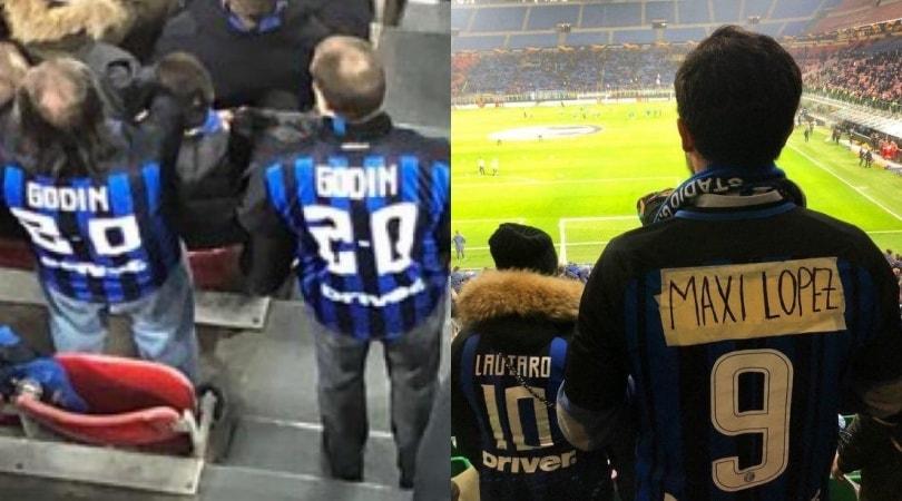 Da Godin a Maxi Lopez: le nuove maglie dei tifosi dell'Inter