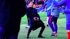 Champions League, solo una multa per Simeone. Con la Juventus sarà in panchina