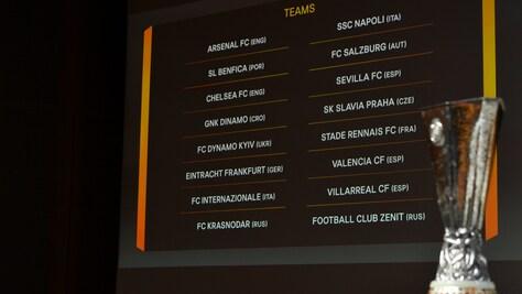 Diretta sorteggi Europa League Napoli e Inter