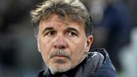 Serie A Frosinone, Baroni: «Con la Roma voglio vedere una squadra determinata»