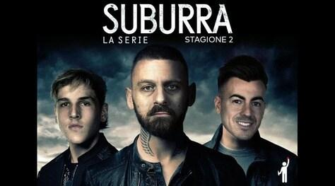 Suburra 2, la serie: arriva il fotomontaggio con Zaniolo e De Rossi