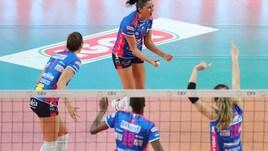 Volley: A1 Femminile, Novara-Monza e Scandicci-Busto aprono la 21a giornata