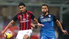 Serie A Milan-Empoli 3-0, il tabellino