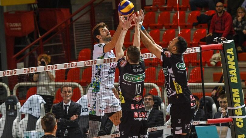 Volley: Superlega, Trento-Padova è l'anticipo della 9a di ritorno
