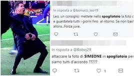 Juve, i tifosi sui social: «Appendete nello spogliatoio la foto di Simeone»