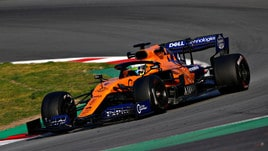 F1, McLaren: principio d'incendio al box di Montmelò