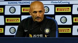 Spalletti: «Aspetto Keita e Icardi. Champions, l'Inter c'è»