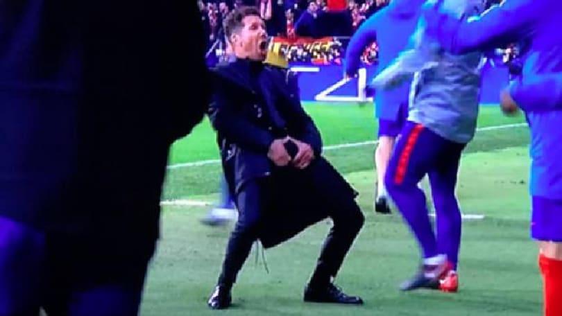 Atletico-Juve, il padre di Simeone: «Il gestaccio? Non gliel'ho insegnato io»