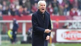 Serie A Atalanta, Gasperini: «Non si è mai parlato di Champions»