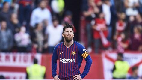 Barcellona ai piedi di Messi: tris che stende il Siviglia!