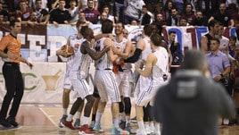Basket Serie A2, la Leonis Roma sbrana Bergamo: 96-70