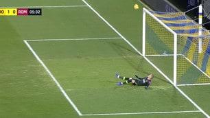 Olsen, papera incredibile sul gol del Frosinone