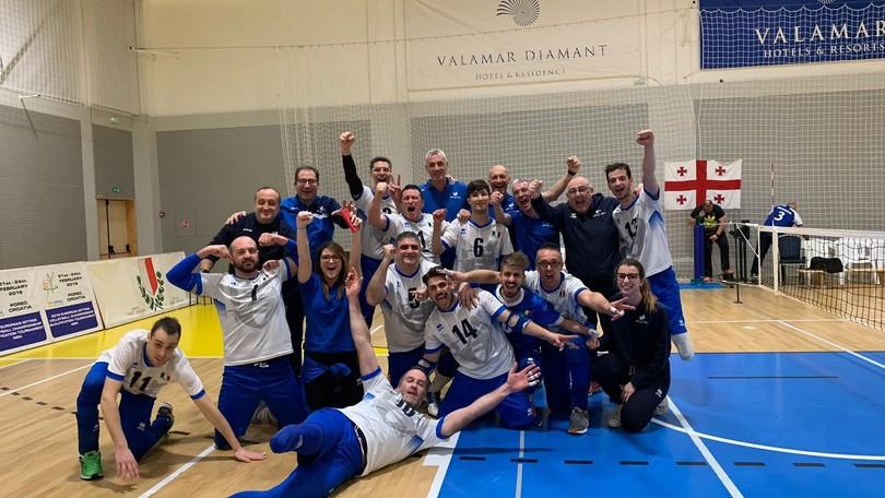 Sitting Volley: Qualificazioni Europee, gli azzurri battono la Georgia