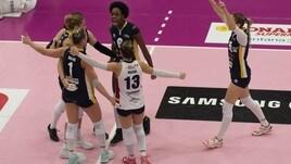 Volley: A2 Femminile, Ravenna vince al tie break l'anticipo con Martignacco