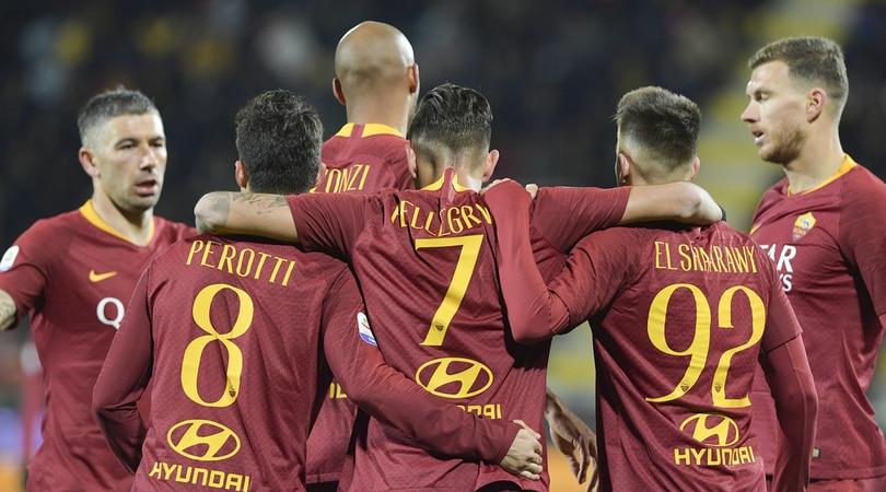 Serie A Frosinone-Roma 2-3, il tabellino
