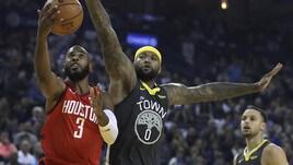 NBA, Houston batte Golden State. Lakers e Boston ko