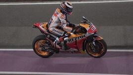 MotoGp test Qatar, Lorenzo: «Polso ok, sono in grado di capire la moto»