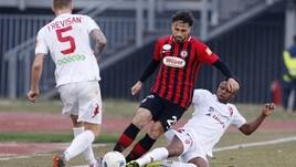 Serie B, 10 squalificati. Tre giornate a Gerbo del Foggia
