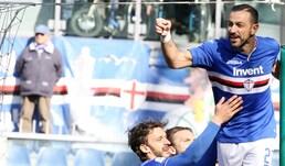 La Sampdoria di misura col Cagliari: decide Quagliarella