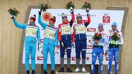 Sci di Fondo: è bronzo nella Sprint a Coppie con Pellegrino-De Fabiani
