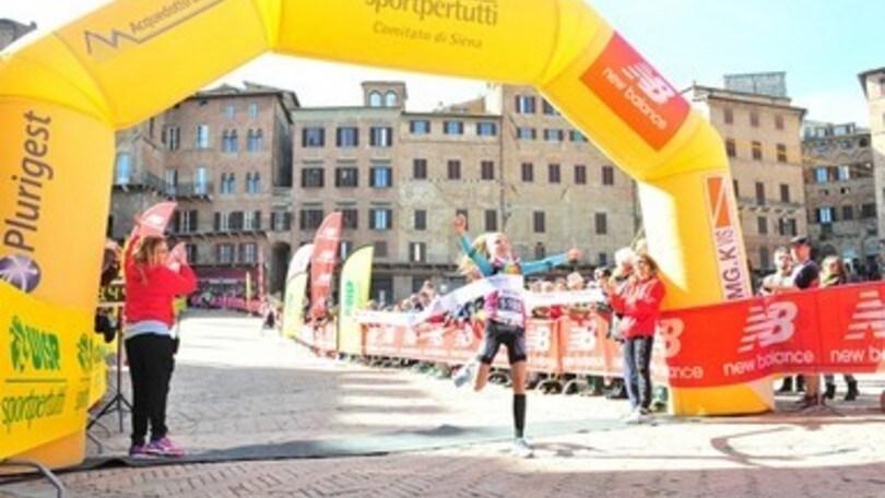 Terre di Siena Ultramarathon con la sfida tra David Colgan e l'azzurro Andrea Zambelli