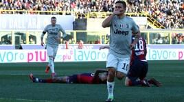 Bologna-Juventus 0-1: Dybala entra e decide