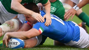 Rugby, ennesimo ko per l'Italia. L'Irlanda passa 16-26 all'Olimpico