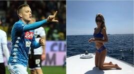 Parma-Napoli, Zielinski in gol con dedica romantica