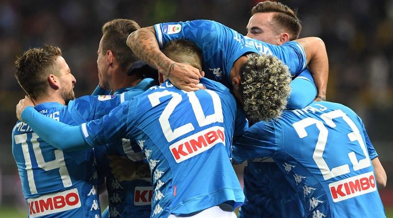 Parma-Napoli 0-4: super Milik, Zielinski e Ounas