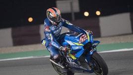 MotoGp, Test Qatar: svetta Rins, Rossi lontano
