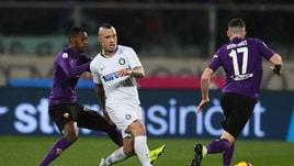 Serie A Fiorentina-Inter 3-3, il tabellino