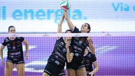 Volley: A2 Femminile, Perugia non si ferma più, battuta Soverato
