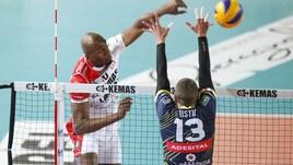Volley: A2 Maschile, Girone Bianco, bottino pieno per Mondovì e Brescia