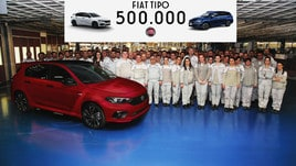 Fiat Tipo raggiunge il mezzo milione