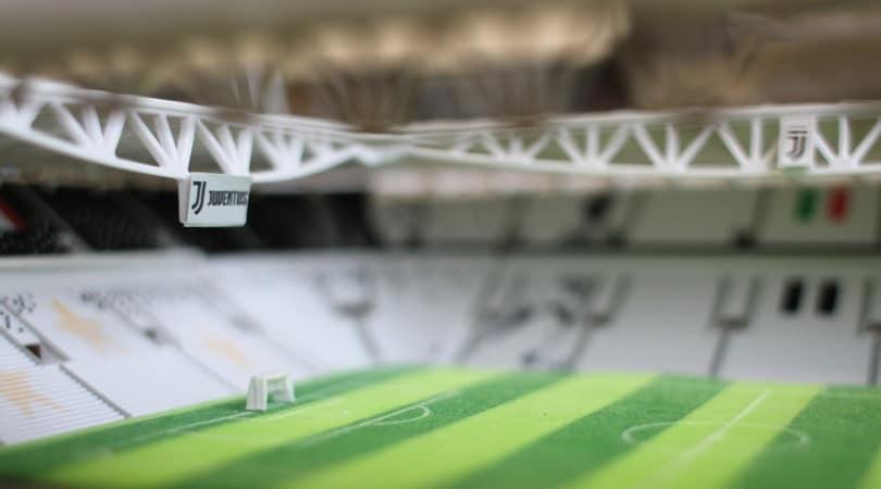 Passione bianconera, costruisci l'Allianz Stadium