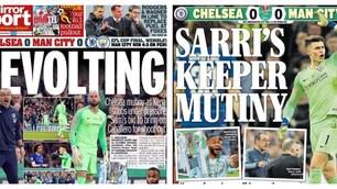Caso Kepa, i tabloid inglesi: «Ammutinamento, Sarri affonda»