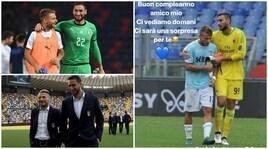 Coppa Italia Lazio-Milan, il regalino di Immobile per Donnarumma