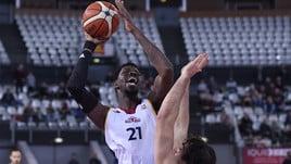 Basket, A2: la Virtus Roma perde ancora per un punto, ko anche Latina