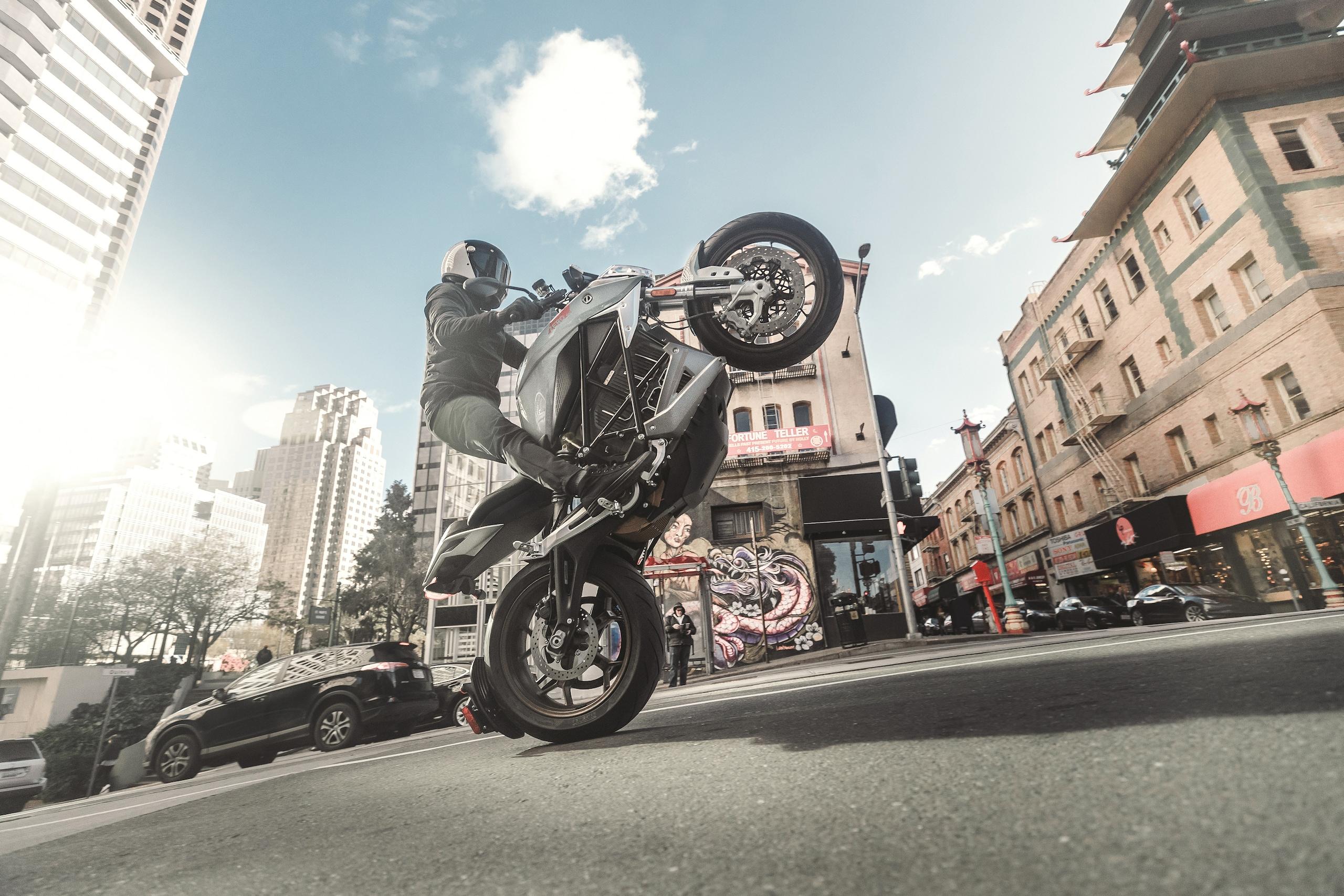 Zero Motorcycles SR/F - LE FOTO