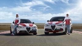 Ecco le foto della Stelvio e della Giulia Quadrifoglio Alfa Romeo Racing