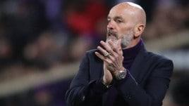 Coppa Italia Fiorentina, Pioli: «L'Inter pensi al rigore di polpastrello...»