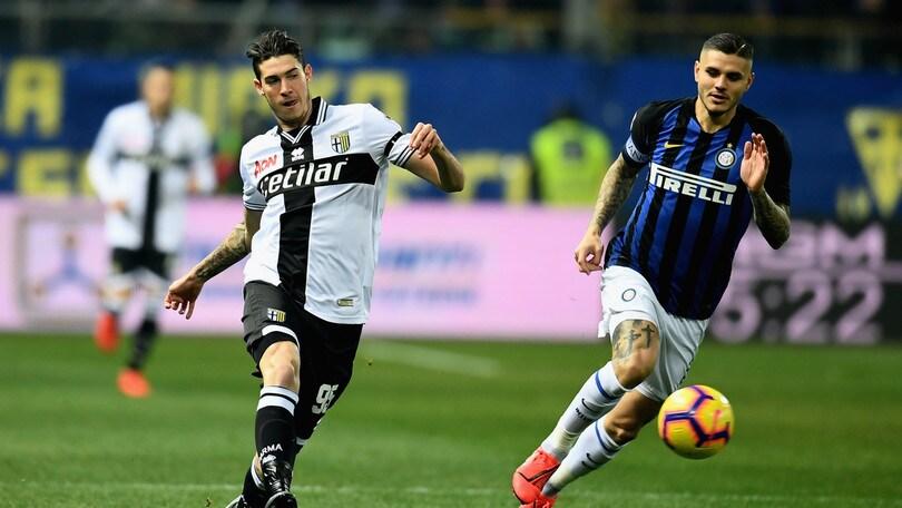 Serie A Parma, lavoro personalizzato per Bastoni
