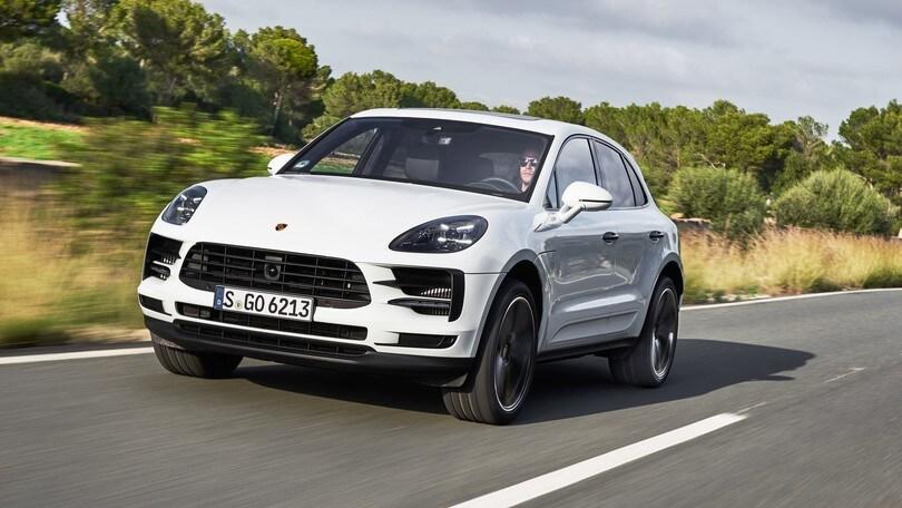 Porsche, la Macan nel 2022 sarà solo elettronica
