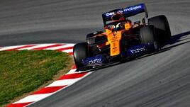 F1, test Barcellona: Norris in vetta, Vettel chiude quarto