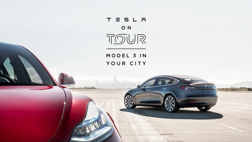 Tesla on Tour fa tappa in Italia