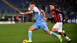On Air: Milan e Lazio, incrocio Champions. In Cina duello Ferrari-Mercedes