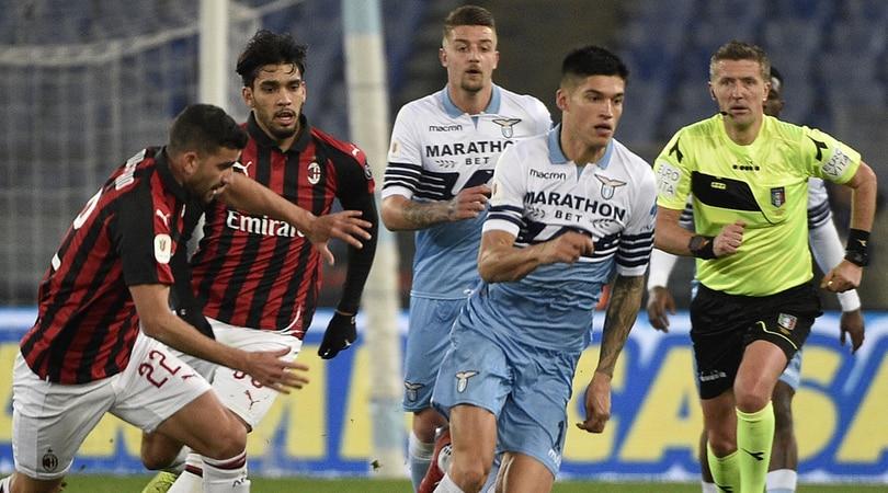 f9cdaaeea799 Coppa Italia, Lazio-Milan 0-0: si decide tutto a San Siro - Corriere ...