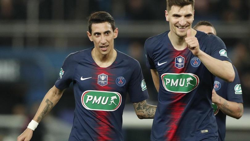 Coppa di Francia: il Psg è la prima semifinalista, tris al Dijon
